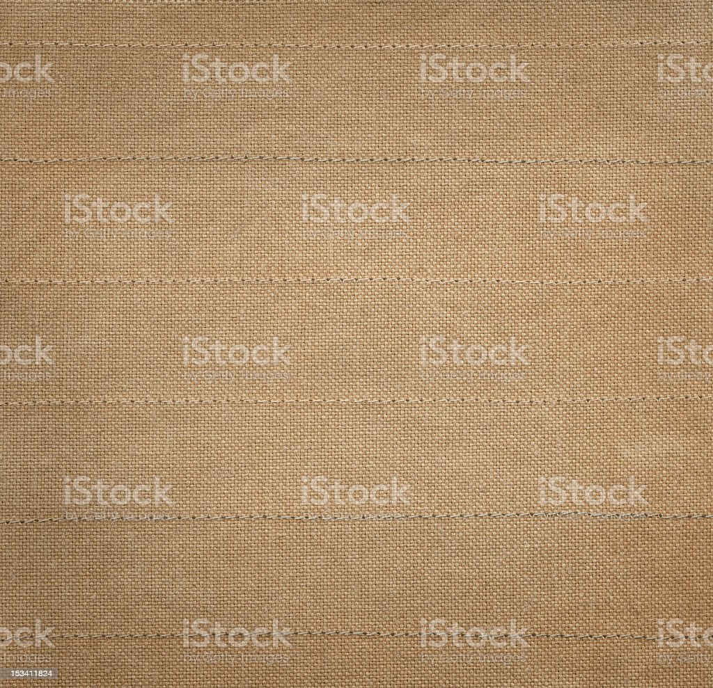 Fabric stitched stock photo