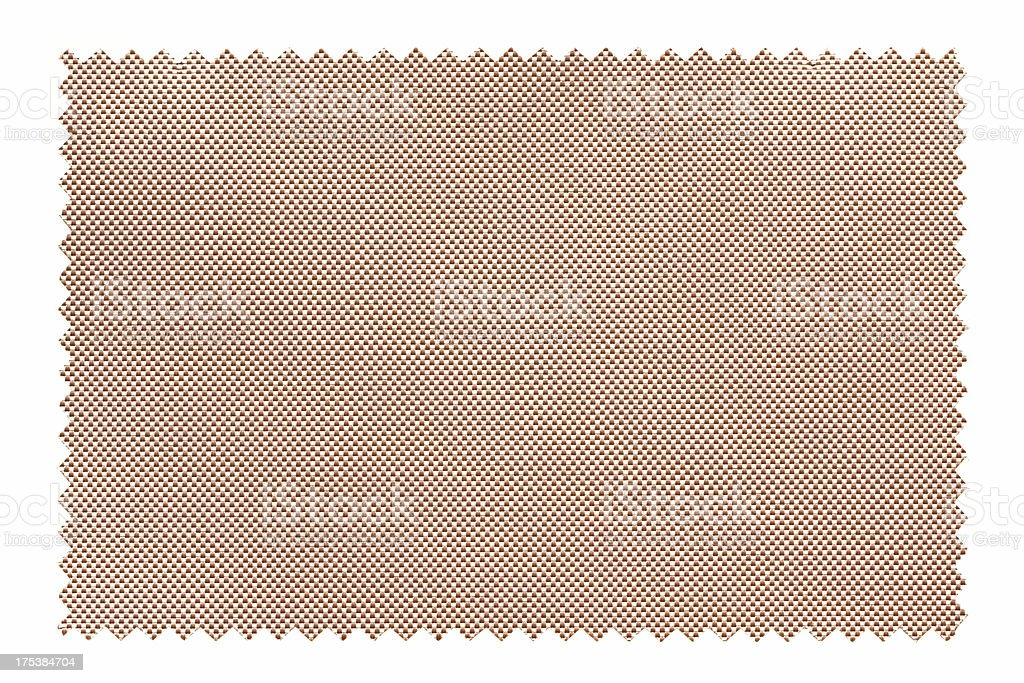 Fabric Swatch background textured isolated royalty-free stock photo