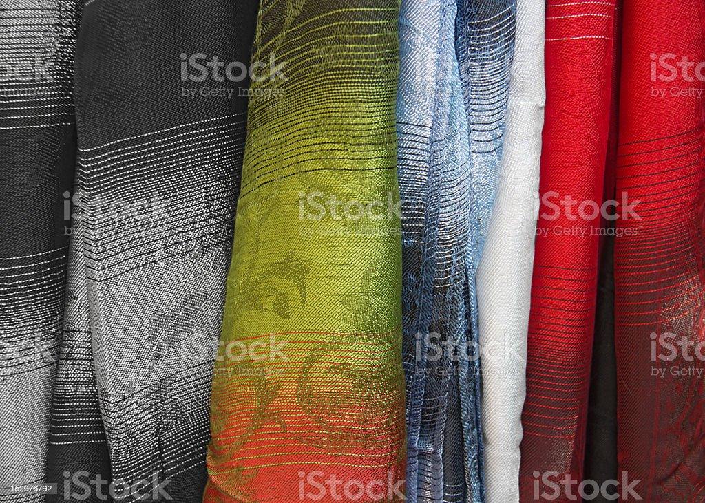 Fabric textile stock photo