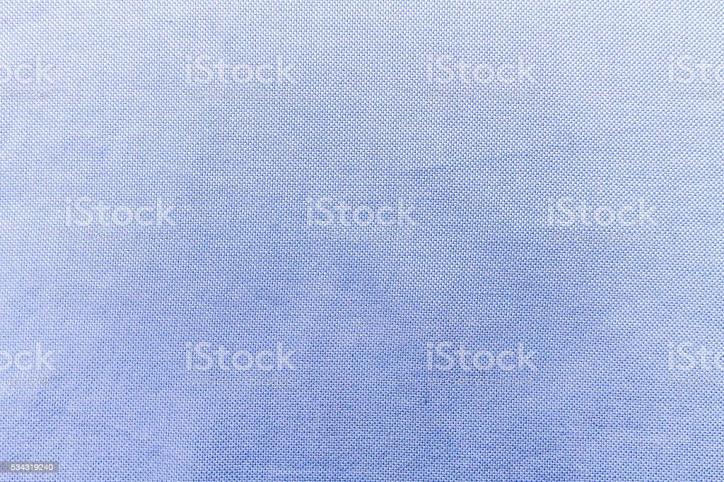 Fabric texture blue shirt stock photo