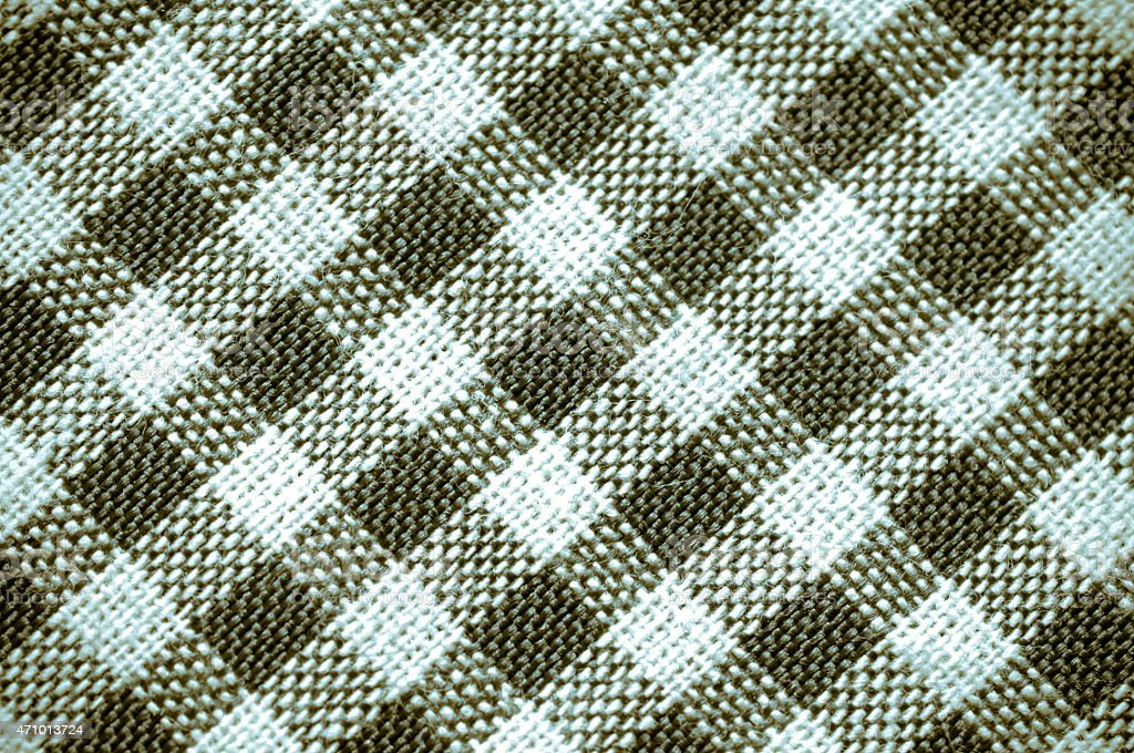 fabric texture pattern collage in a chessboard order as abstract stock photo