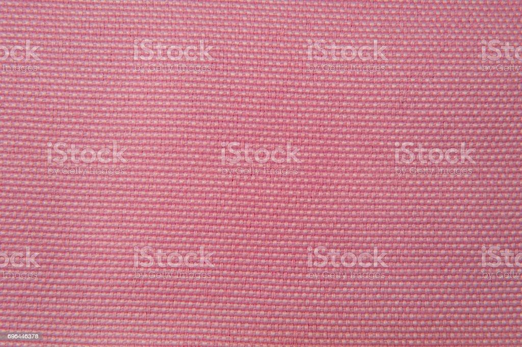 fabric texture pink gobelin stock photo