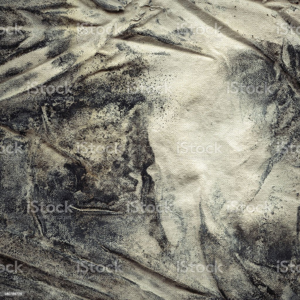 Fabric with mold royalty-free stock photo