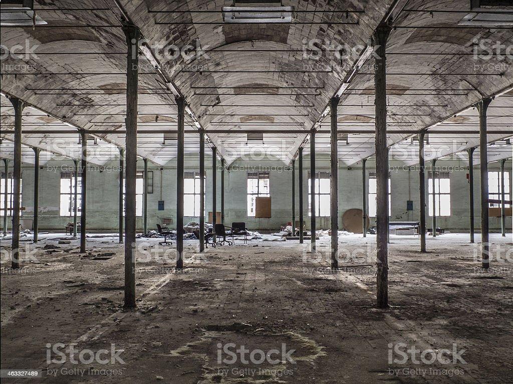 Fabrica abandonada stock photo