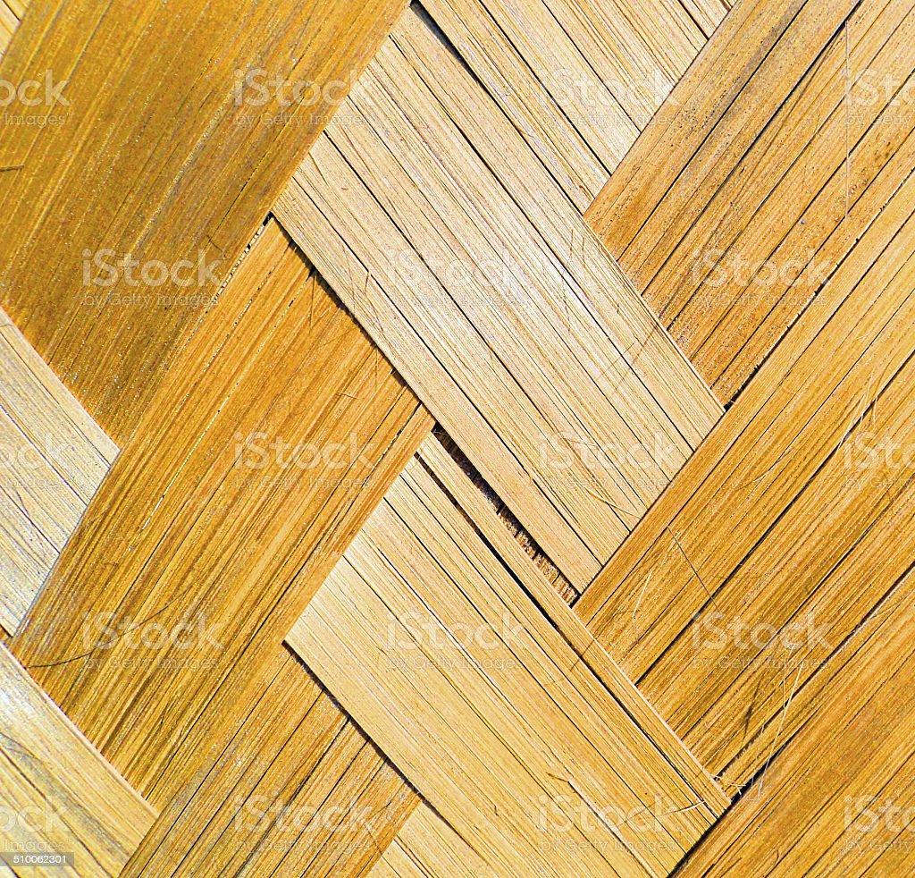 Confectionné en bambou Écorce photo libre de droits