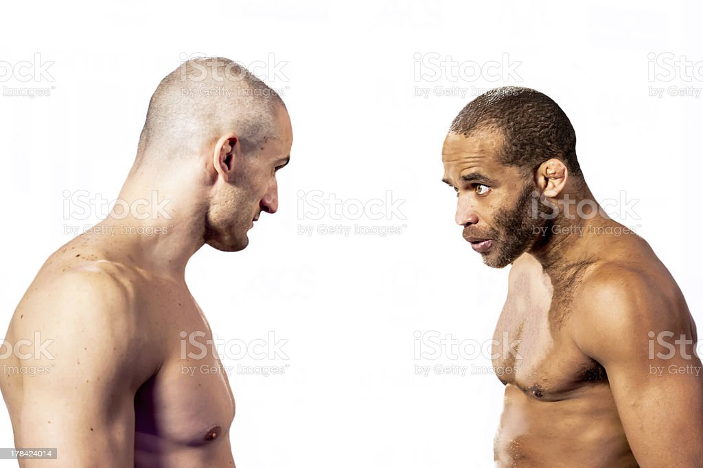 Fabricio Nascimento Vs. Marco Santi - MMA Champions royalty-free stock photo