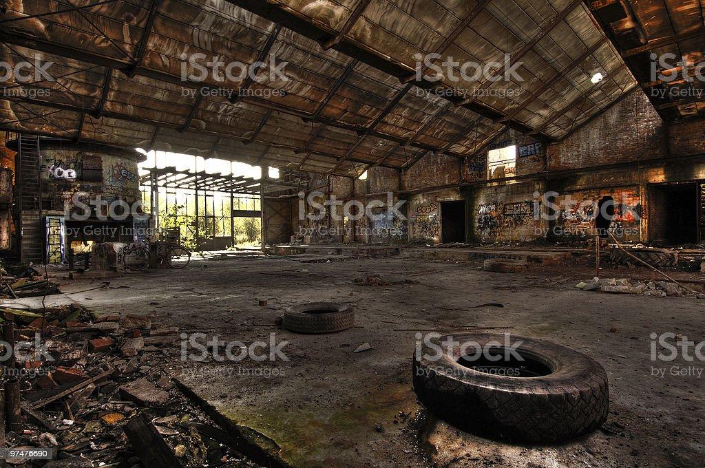 Fabrik royalty-free stock photo