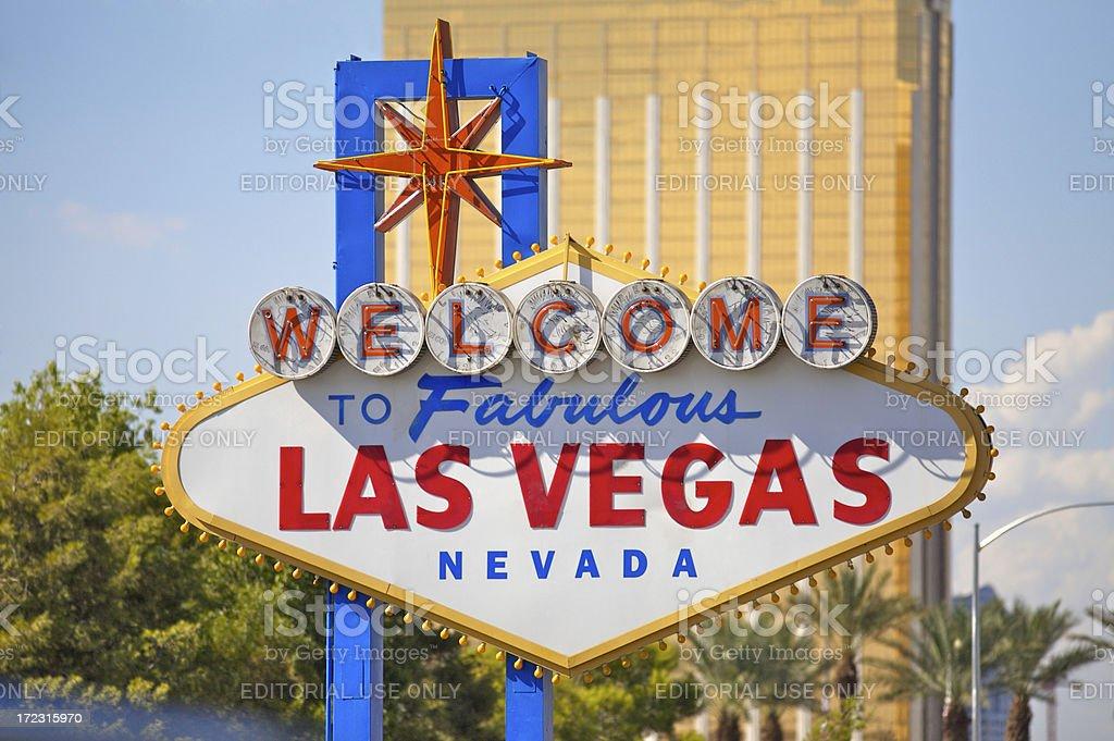 Fabulous Las Vegas Sign royalty-free stock photo