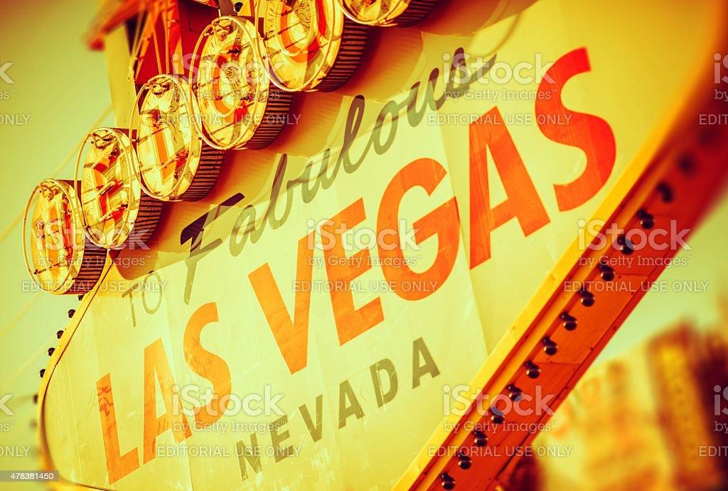Fabulous Las Vegas Strip stock photo