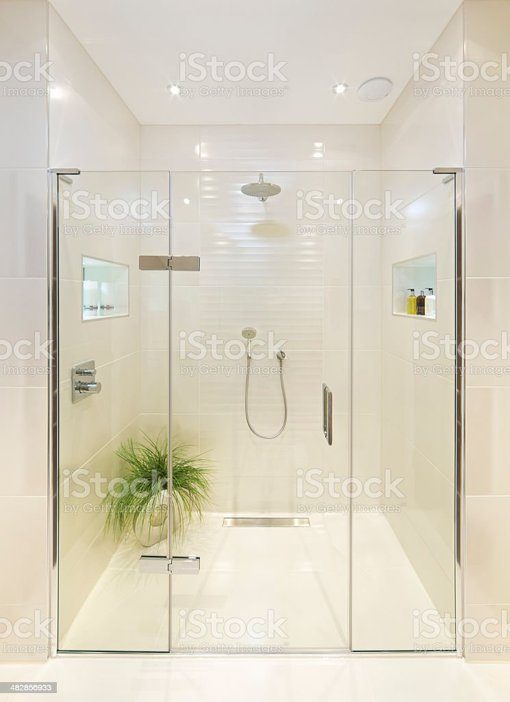 fabulous shower room royalty-free stock photo