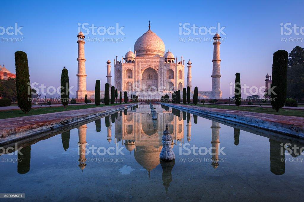 Fabulous Taj Mahal. stock photo