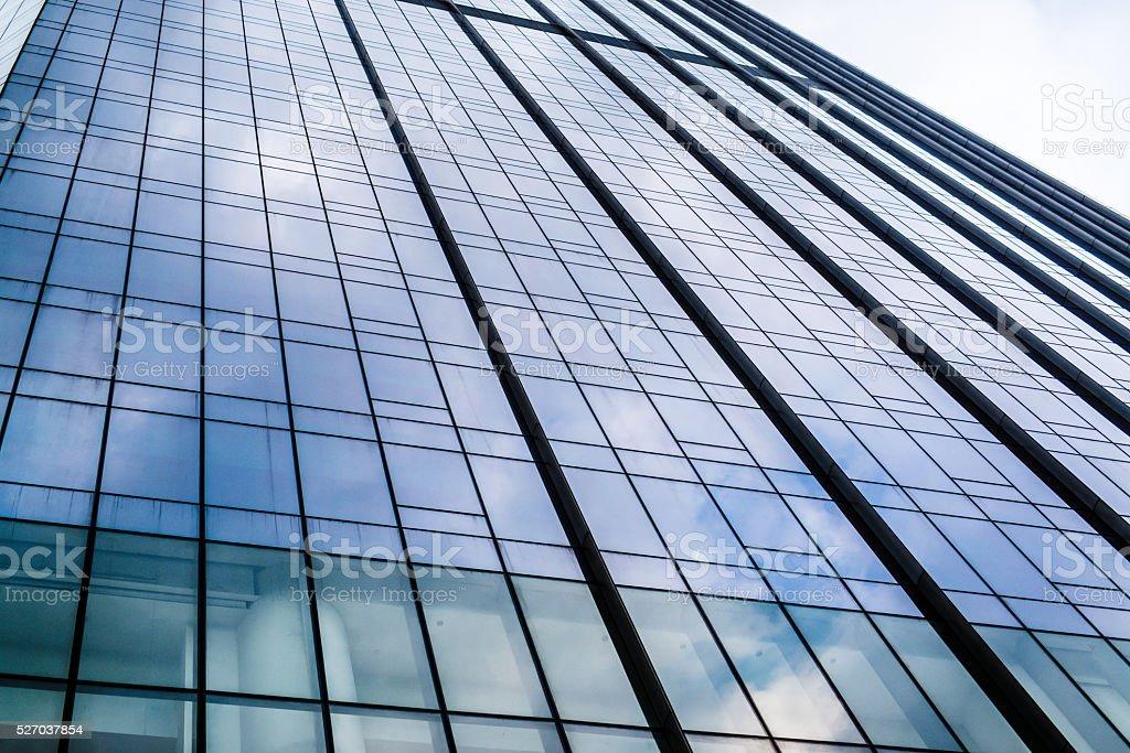 facade glass office architectur stock photo