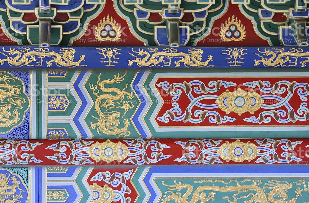 Facade in Beijing royalty-free stock photo