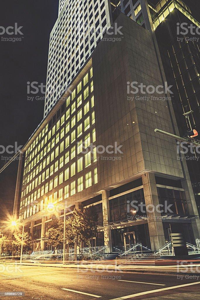 Facade in Miami stock photo
