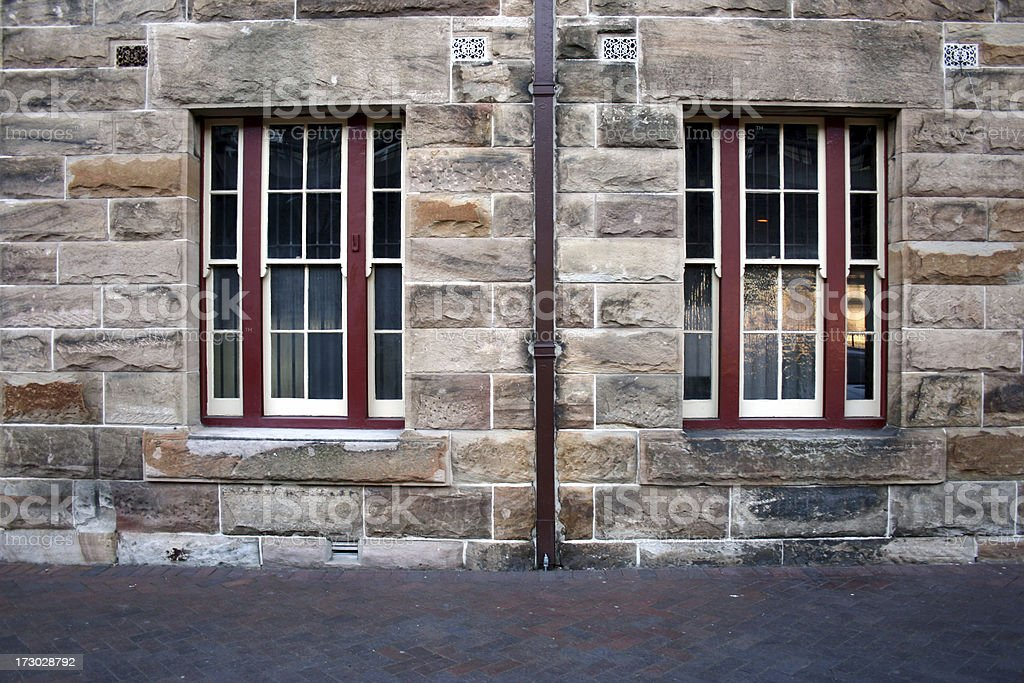 Facade in The Rocks of Sydney royalty-free stock photo