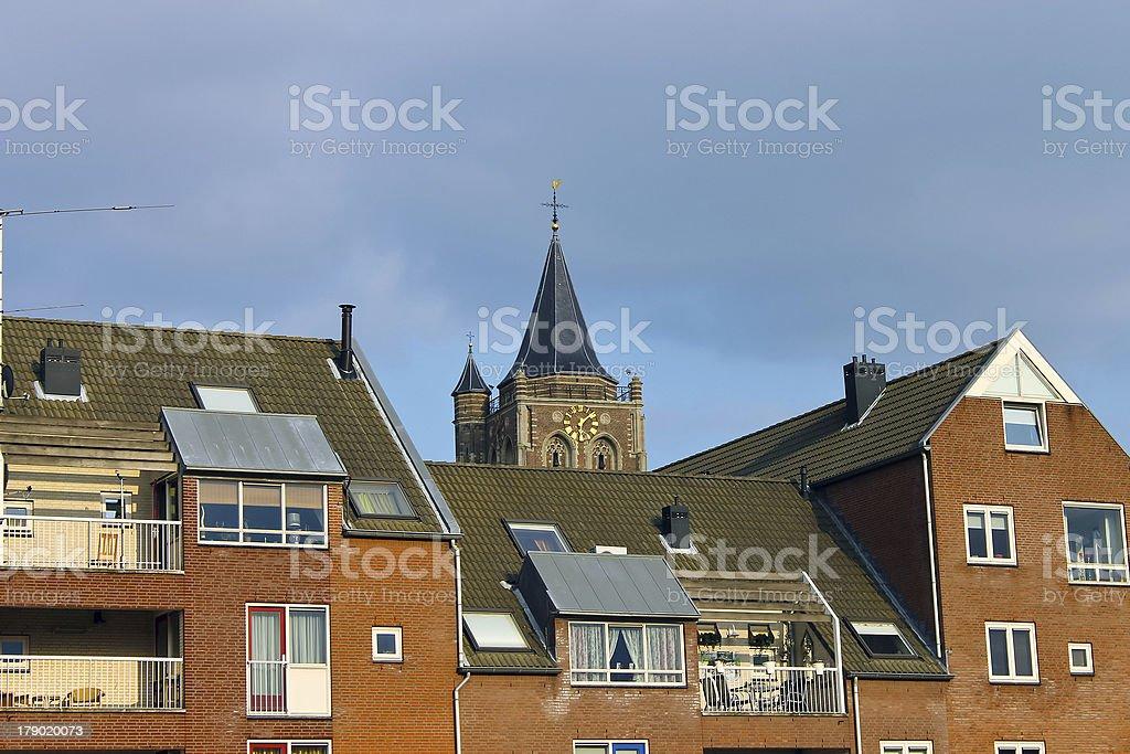 Facade of a modern building royalty-free stock photo
