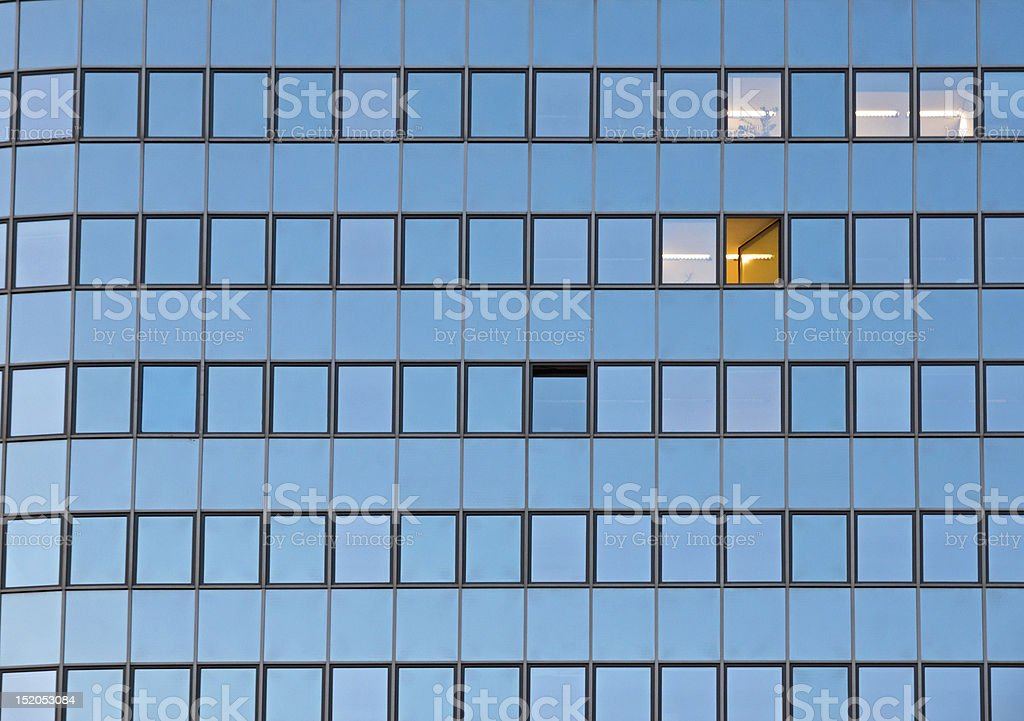 Facade of an office building royalty-free stock photo