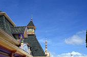 Facade of Enchanted Kingdom Theme Park