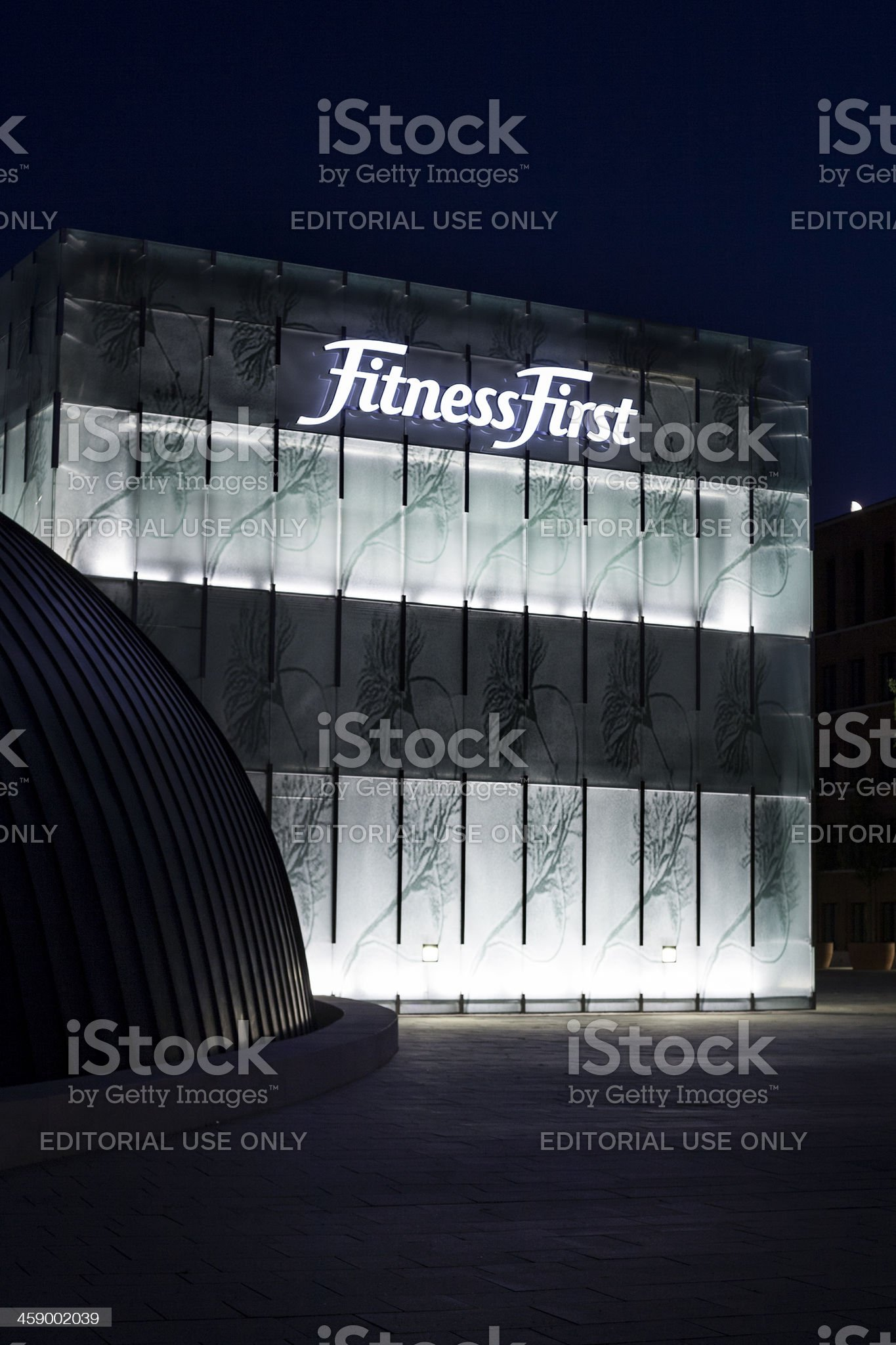Facade of Fitness First royalty-free stock photo