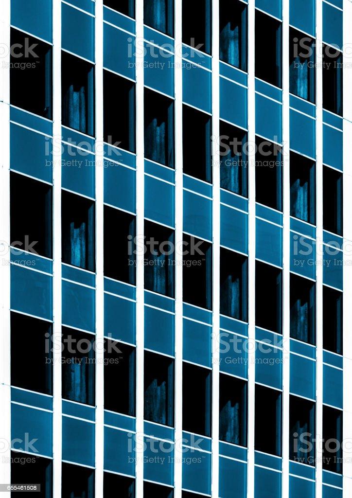 facade of office building stock photo