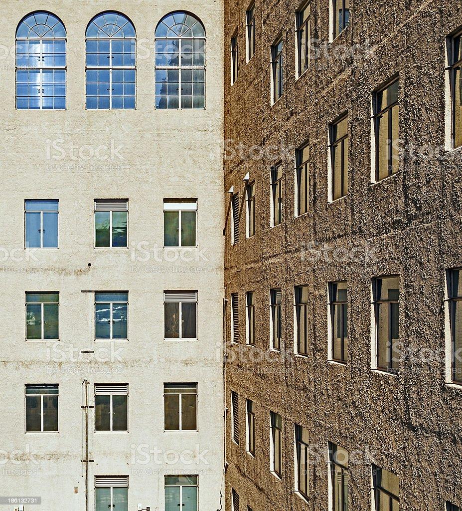 facade of skyscraper royalty-free stock photo