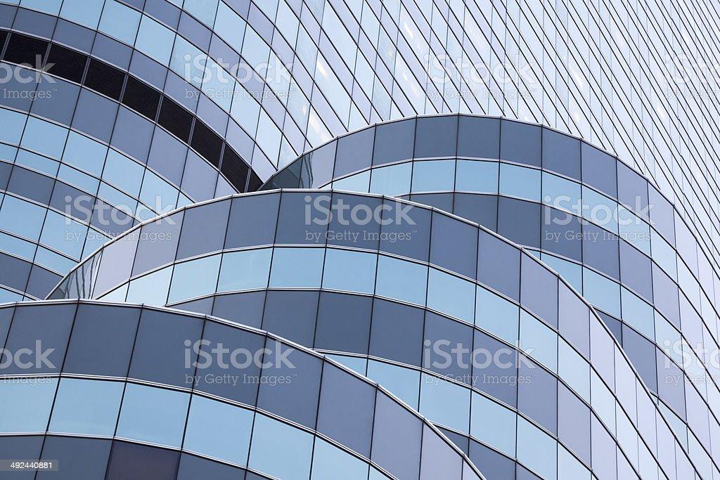 Facade of the InterContinental in Bangkok stock photo
