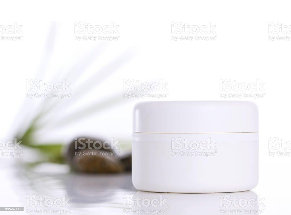 face cream royalty-free stock photo