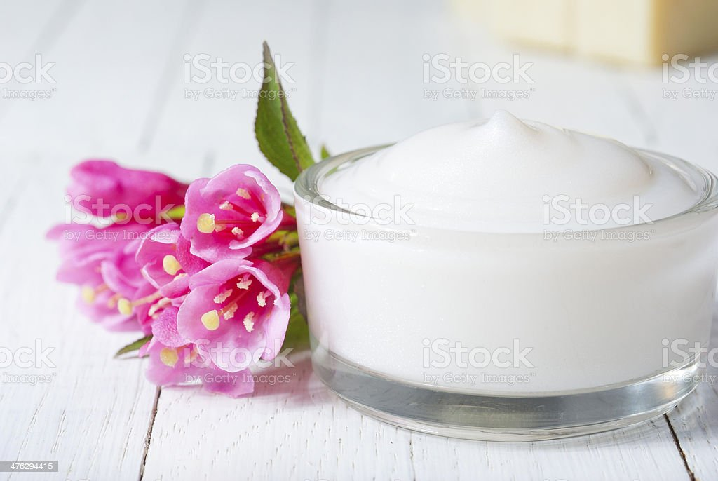 Face cream royalty-free stock photo