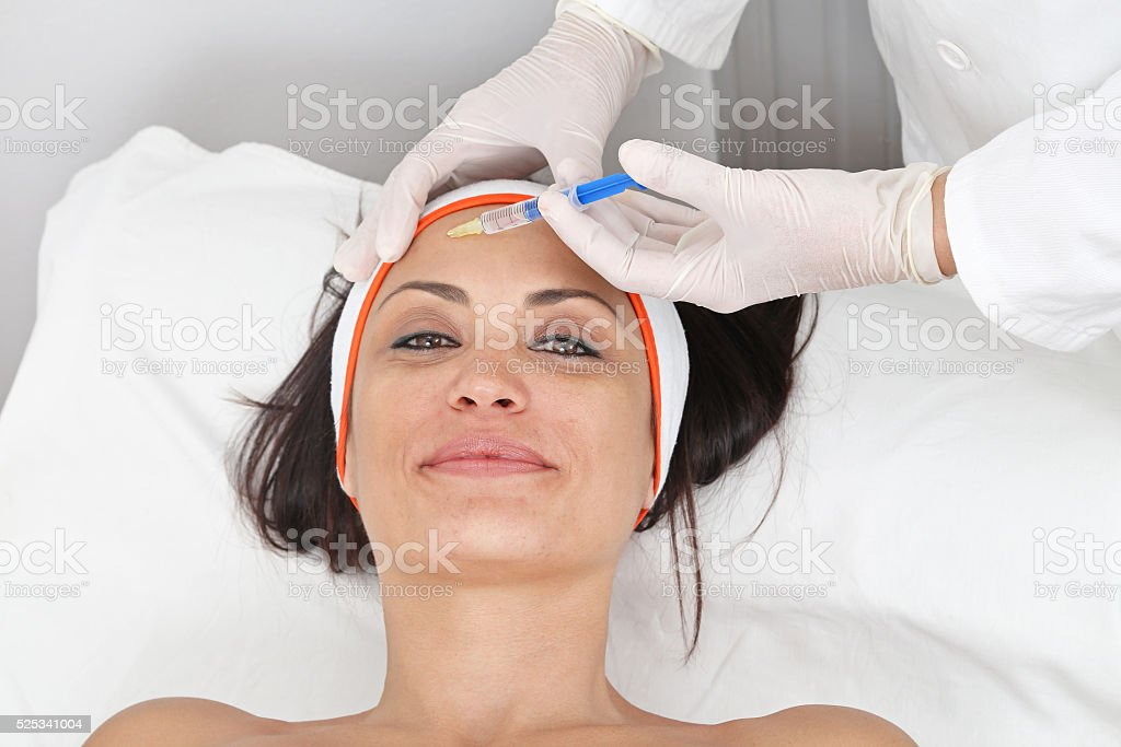 Face Fillers stock photo
