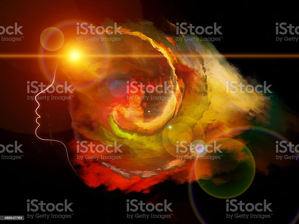 Face In The Cloud royalty-free stock photo