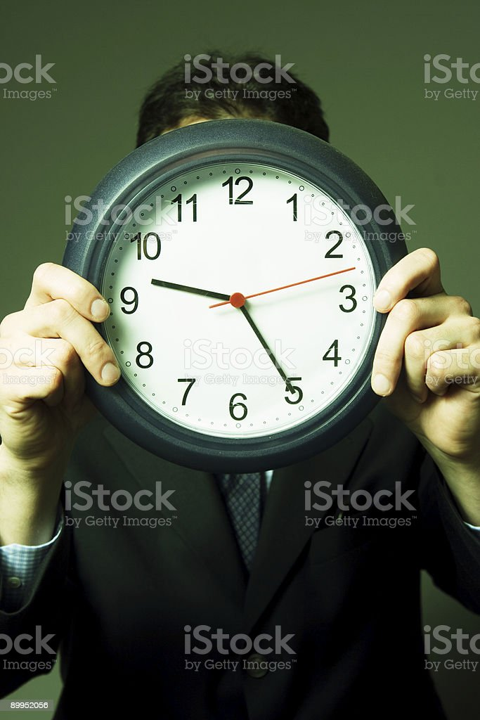 Face In Time royalty-free stock photo