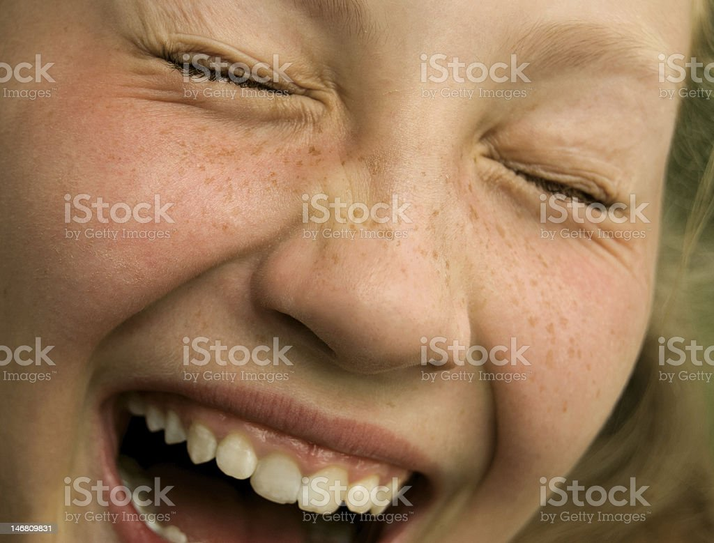 face laughing child royalty-free stock photo