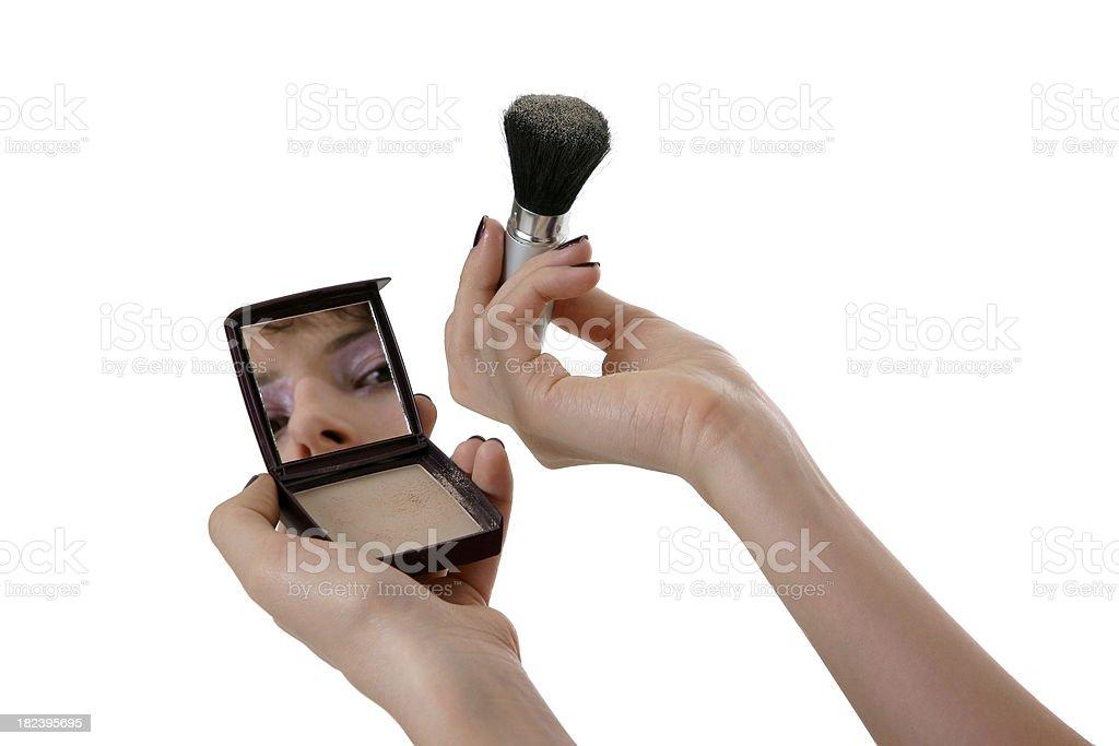 Face make-up royalty-free stock photo