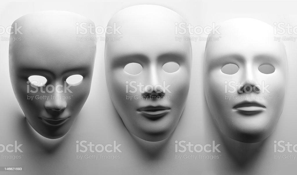 face mask on white background royalty-free stock photo
