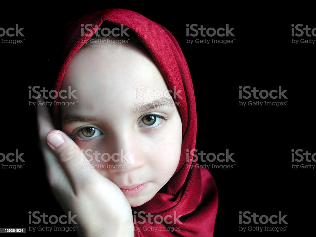 Face of a Child royalty-free stock photo