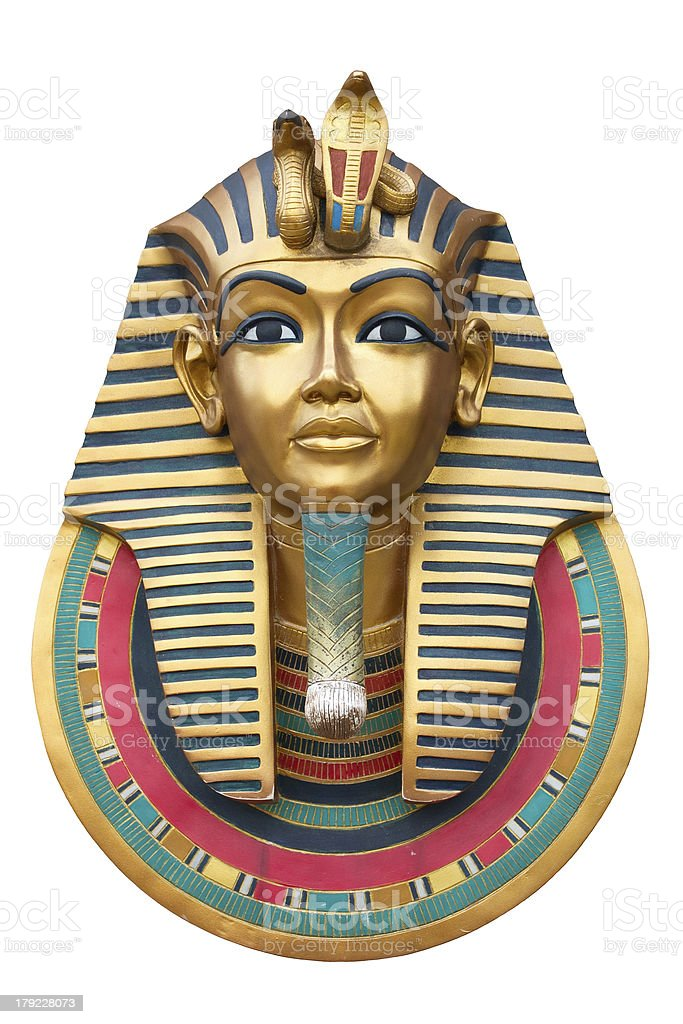 Face of a Pharaoh stock photo