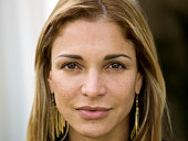 Face of Hispanic Woman (no make up)