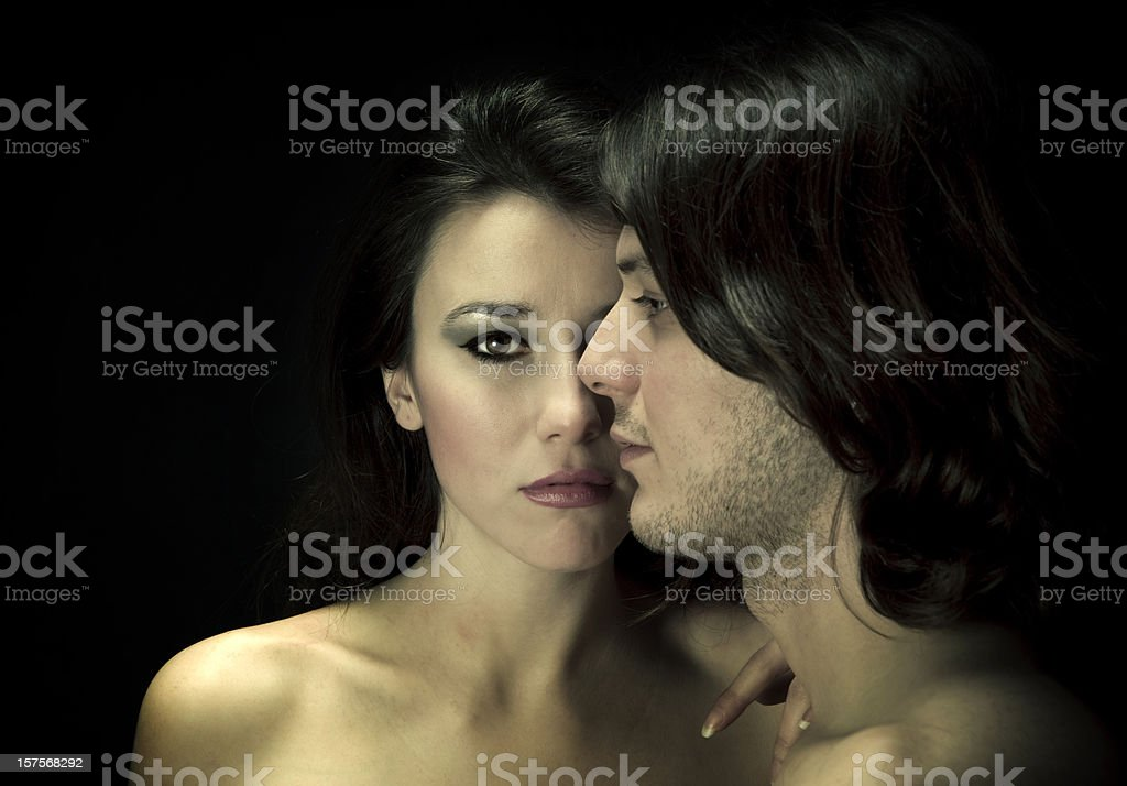 Face of the Love royalty-free stock photo