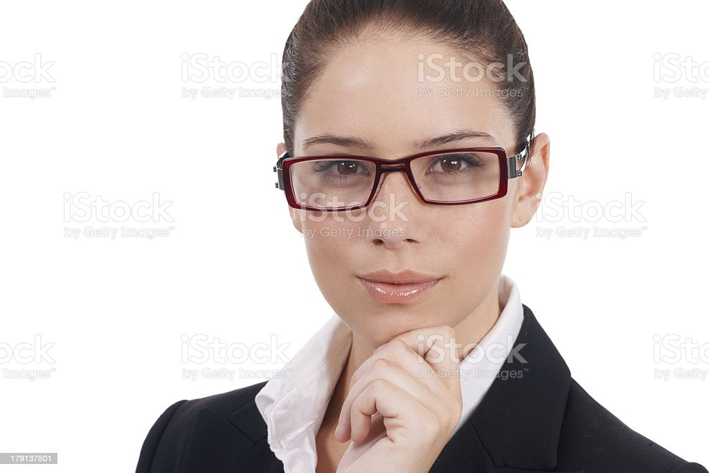 Face of the modern corporate world royalty-free stock photo