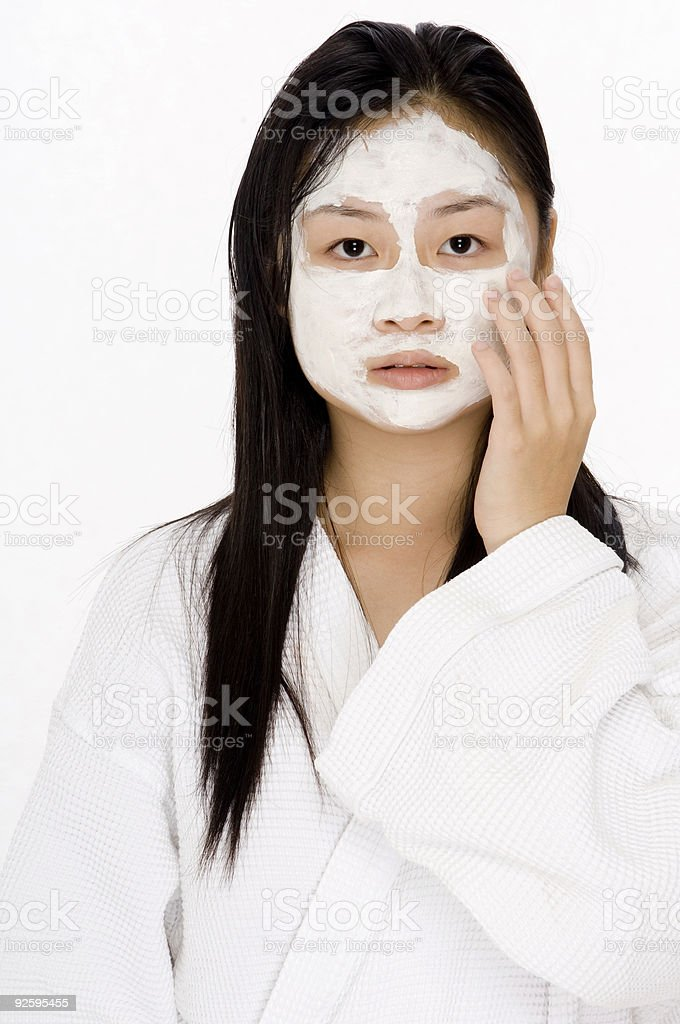 Face Pack royalty-free stock photo
