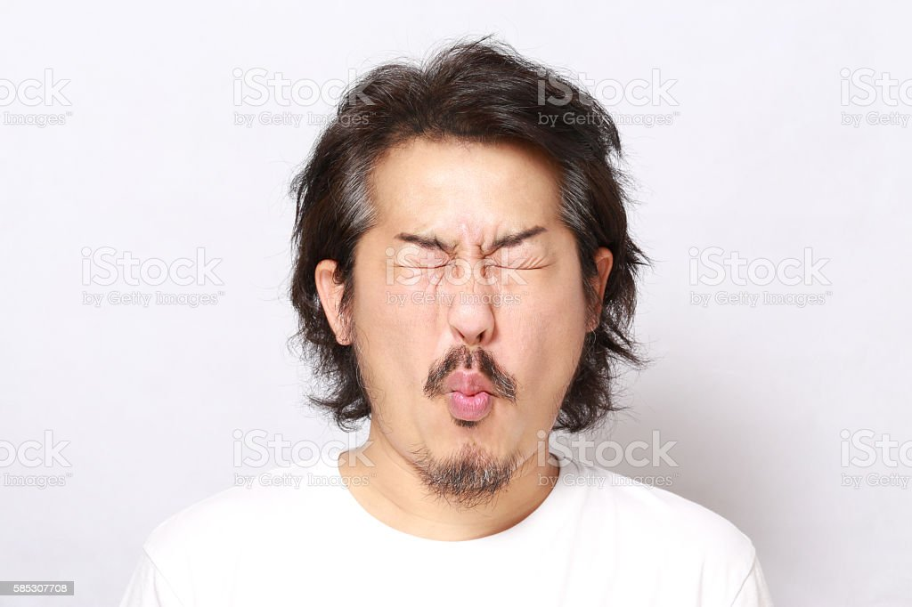 Face stock photo