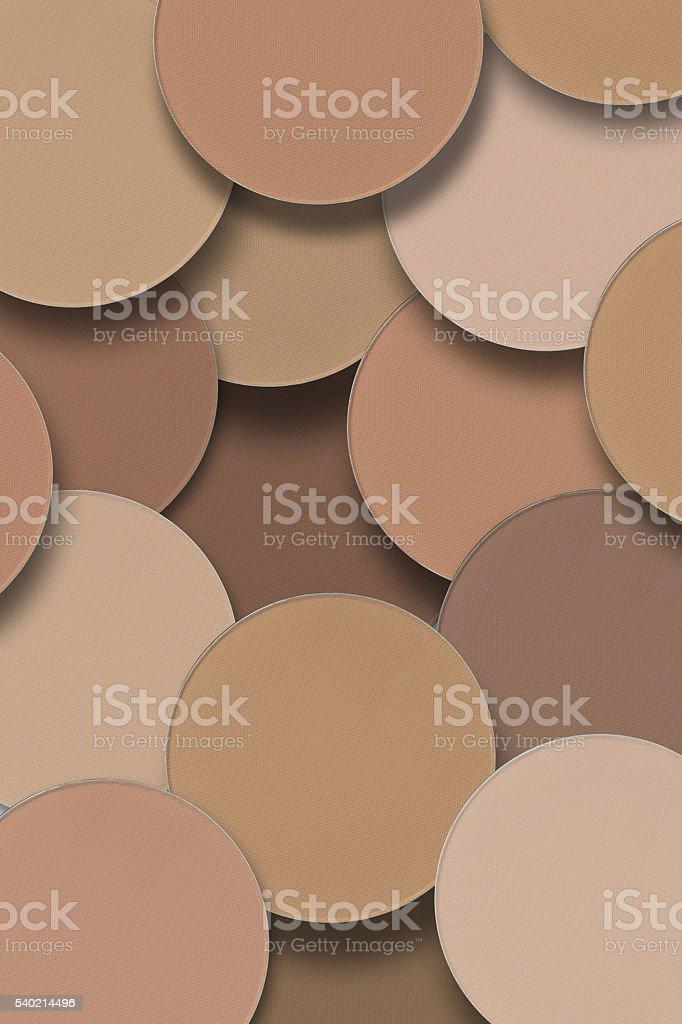 Face powder background stock photo