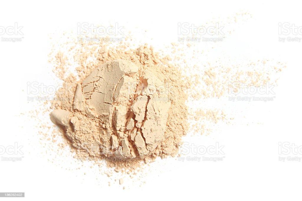Face powder royalty-free stock photo