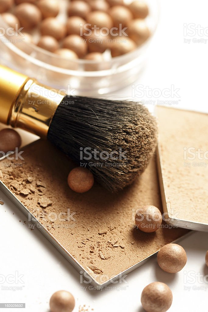 face powder royalty-free stock photo