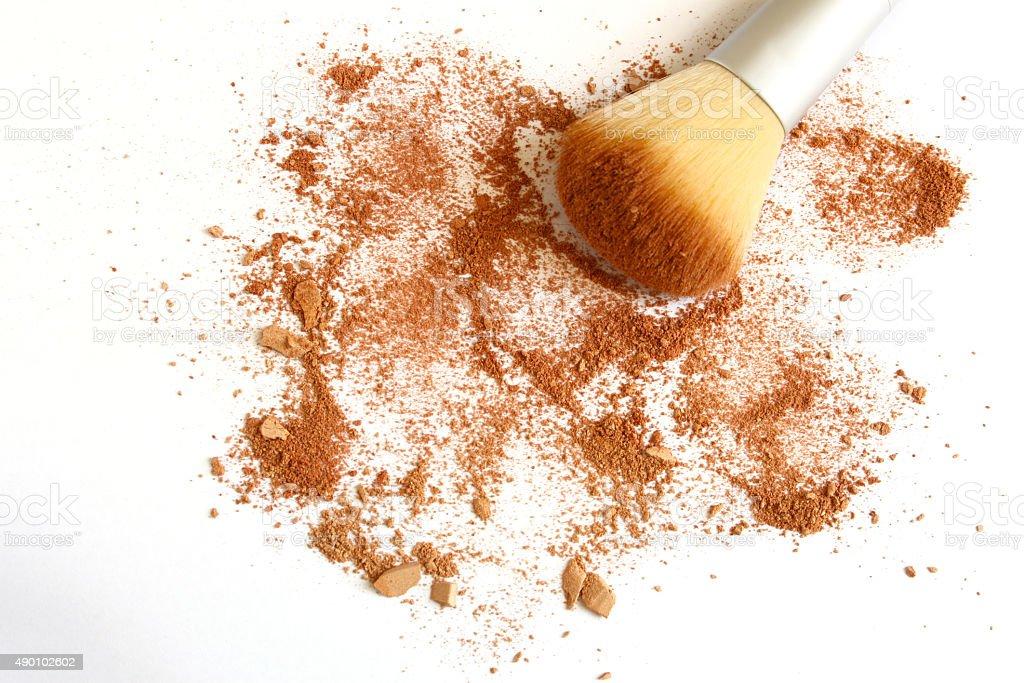Face Powder stock photo