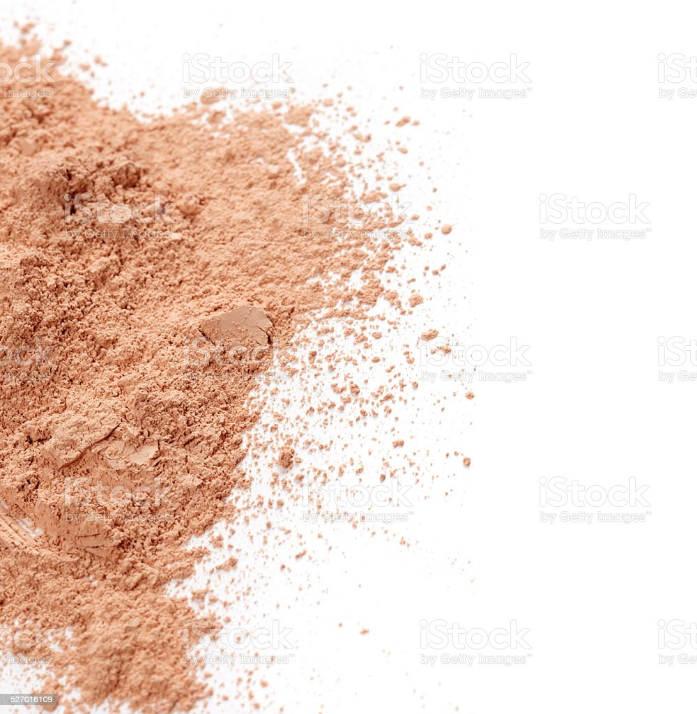 Face powder stock photo