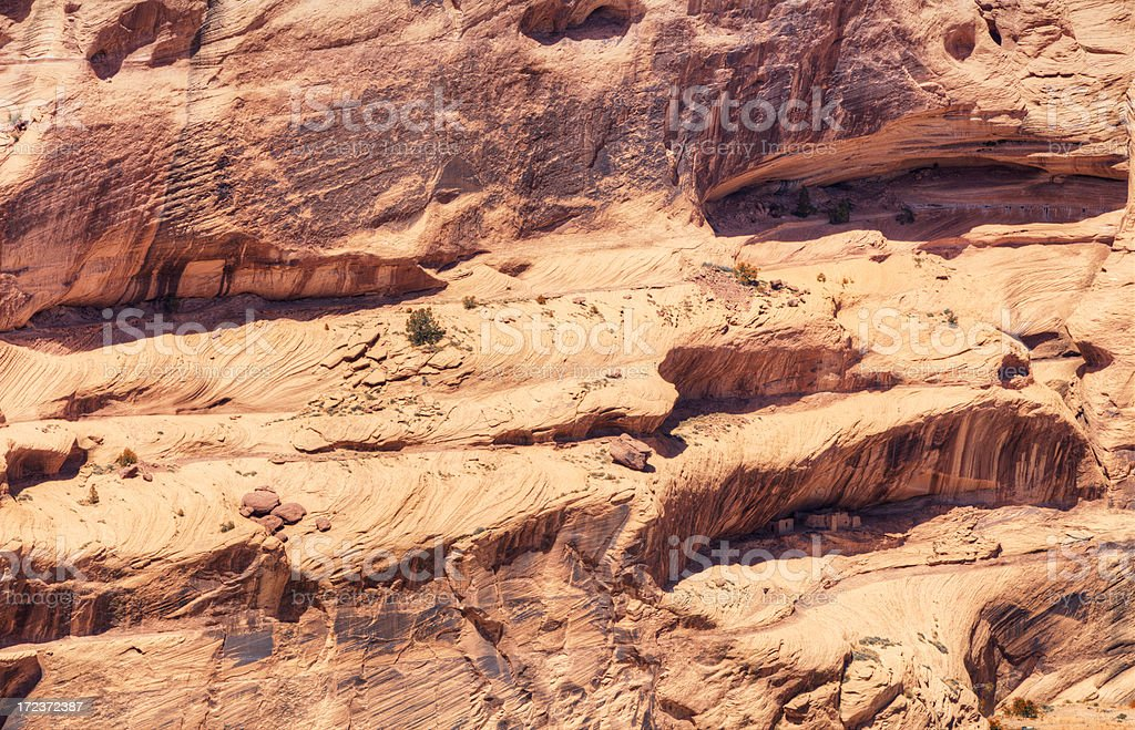 Face Rock - Canyon de Chelly National Monument royalty-free stock photo