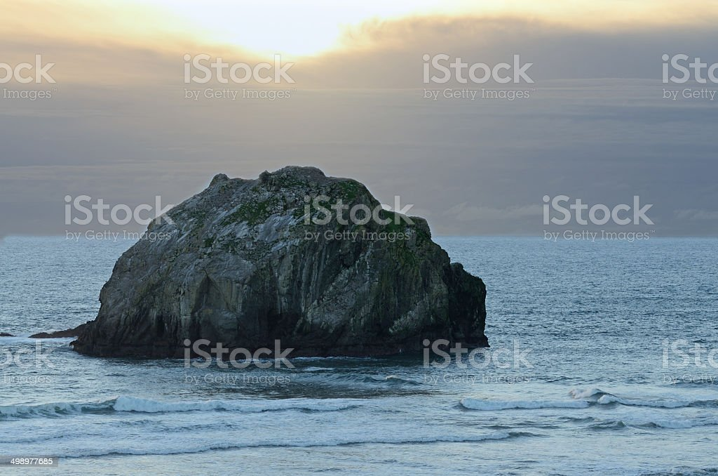 Face Rock stock photo