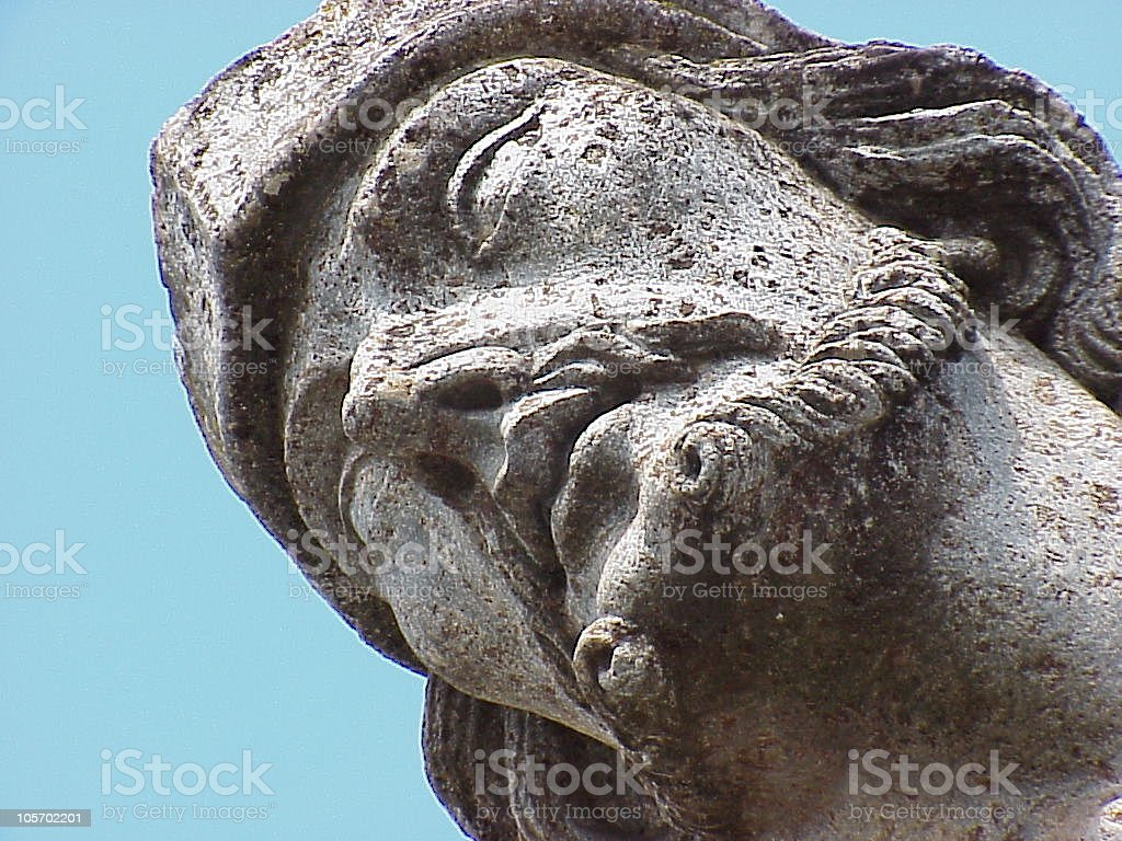 Face  Sculpture royalty-free stock photo