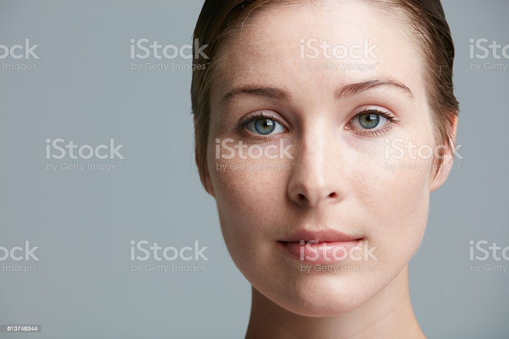 Face the world as you are. Beautiful stock photo